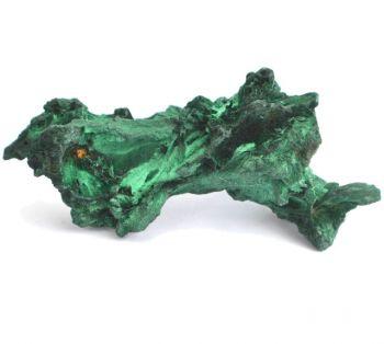 Malachit Stufe - Edelstein Mineral Natur belassen, Nr.75