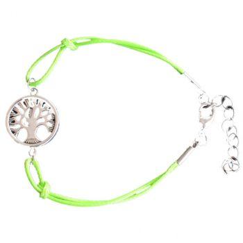 Armband Symbolschmuck Baum des Lebens | Armschmuck mit Karabiner und Verlängerung | Modeschmuck individuell für Damen und Herren, Jugendliche
