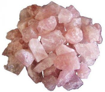 Rosenquarz Rohsteine 1 Kg | Dekosteine rosa Edelsteine | Heilsteine Natursteine | Wassersteine und Dekoration für Haus, Garten und Zimmerbrunnen