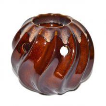 Duftlampe Keramik - Duftteelicht braun