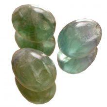 Fluorit grün, Edelstein Ei