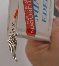 Lesezeichen Engel für Bücher, Vielleser, Bücherwürmer, individuelle Lesezeichen mit Symbolkraft