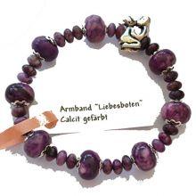 Edelstein-Armband Liebesboten Calcit