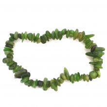 Jade Splitter Armband, grün