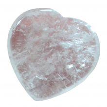 Bergkristall Herz, Edelstein Handschmeichler