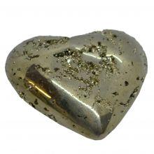 Pyrit Herz,  Edelstein Mineral Nr. 6