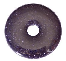 Blaufluss Donut-Anhänger, ca. 50mm