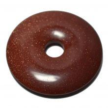 Goldfluss Donut-Anhänger, ca. 50mm