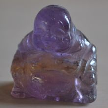 Buddha Figur Ametrin, ca. 3 cm