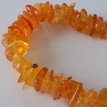 Bernstein Armband aus mehrfarbigen Bernstein-Perlen | Echtes Ostsee Bernstein Splitter-Armband für Damen und Herren