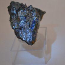Hämatit Mineralien Stufe   Elba Mineral Naturstein   N210   Natur gewachsen, auf Ständer