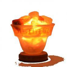 Salzkristall Leuchtschale  - Feuer des Olymp Gr. S