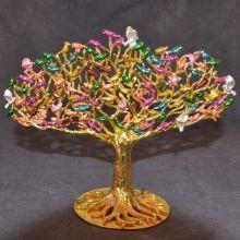 Wunscherfüllungs Baum - 100 bunte Vögel