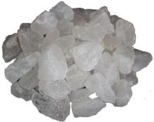 Bergkristall Edelstein Rohsteine 1 kg